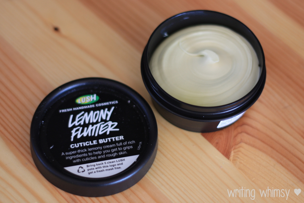 Lush Lemony Flutter Cuticle Butter 2
