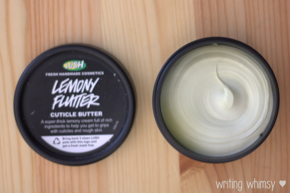 Lush Lemony Flutter Cuticle Butter 3