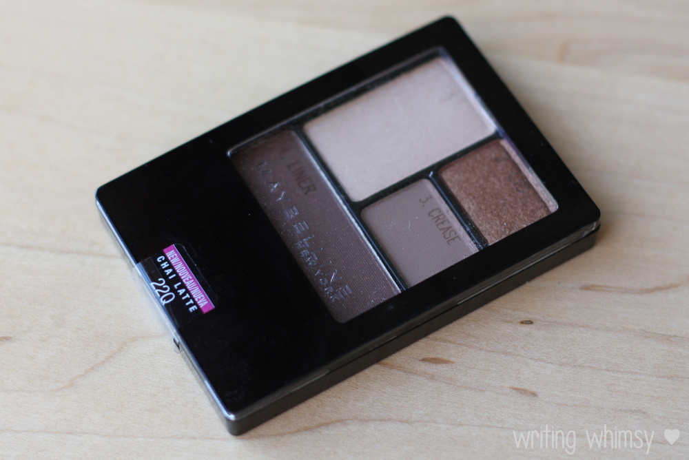 Maybelline ExpertWear Quad Chai Latte 2