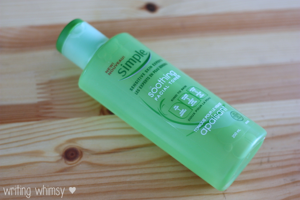 Simple Soothing Facial Toner