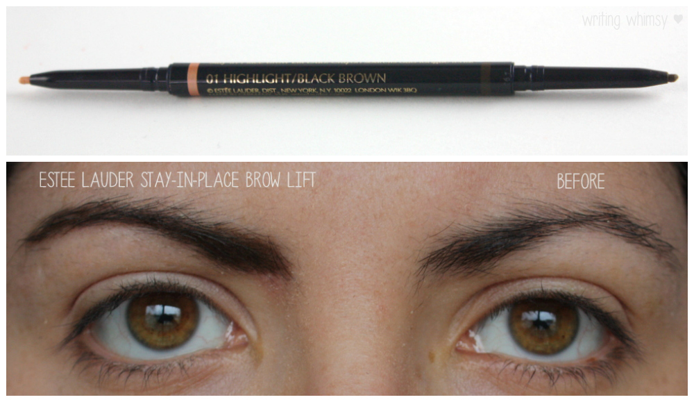 1-Estee Lauder Double Wear Stay-in-Place Brow Lift Duo in Black Brown