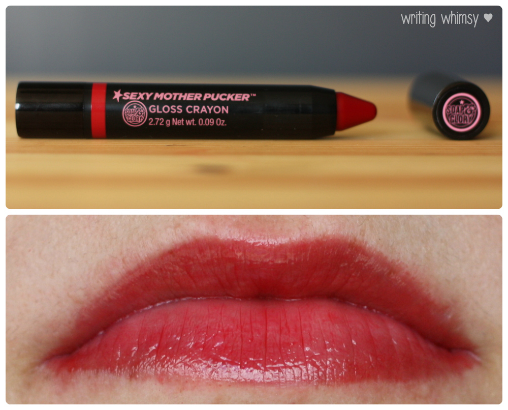 1-Soap & Glory Sexy Mother Pucker Gloss Crayons 2 Collage