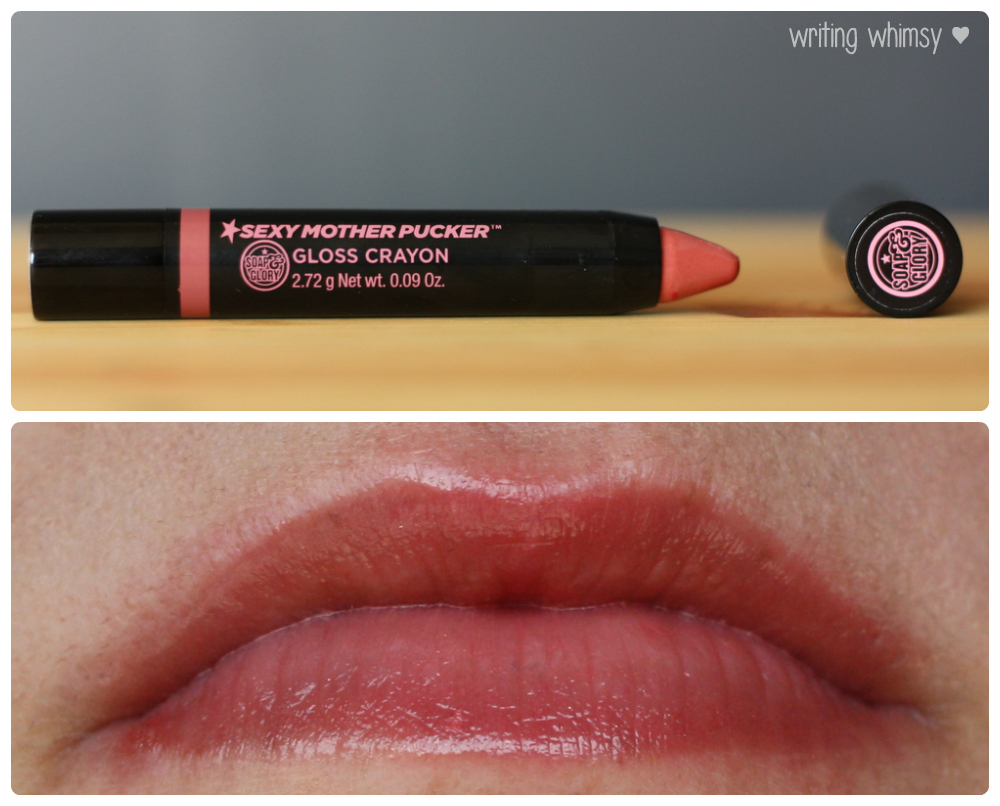 1-Soap & Glory Sexy Mother Pucker Gloss Crayons Collage