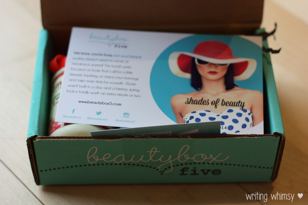 Beauty Box 5 April 2014 Review 9