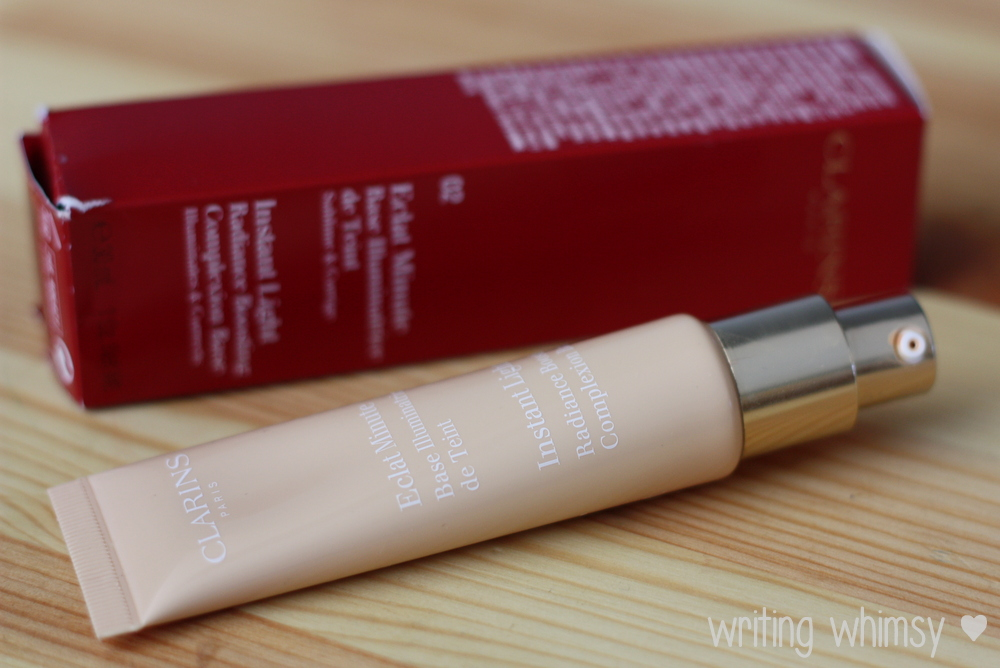 Clarins Instant Light Radiance Boosting Complexion Base in Champagne