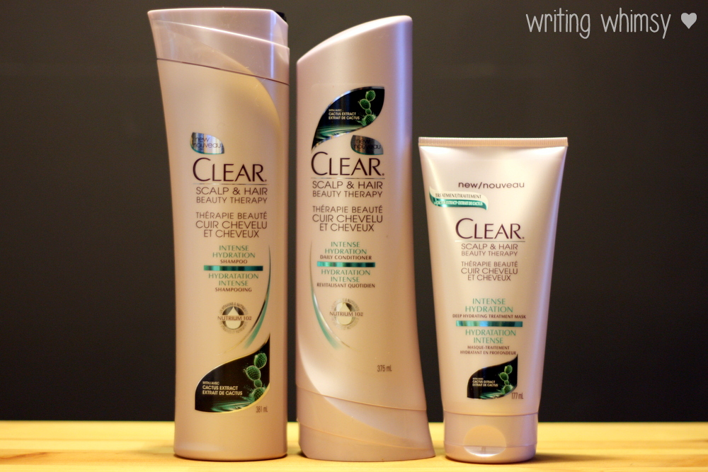 Clear Intense Hydration Nourishing Shampoo, Conditioner and Mask 2