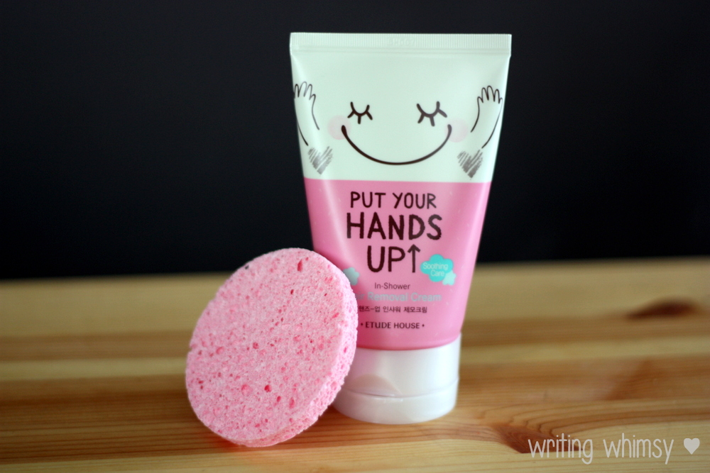 Etude House Put Your Hands Up In Shower Hair Removal Cream 3