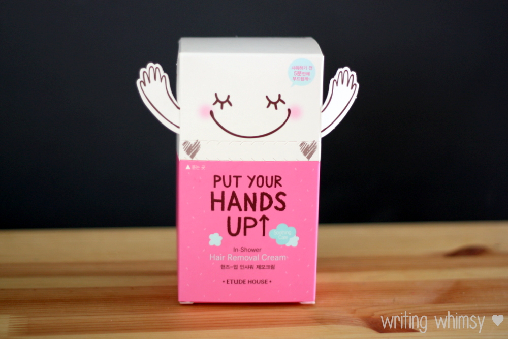 Etude House Put Your Hands Up In Shower Hair Removal Cream 5