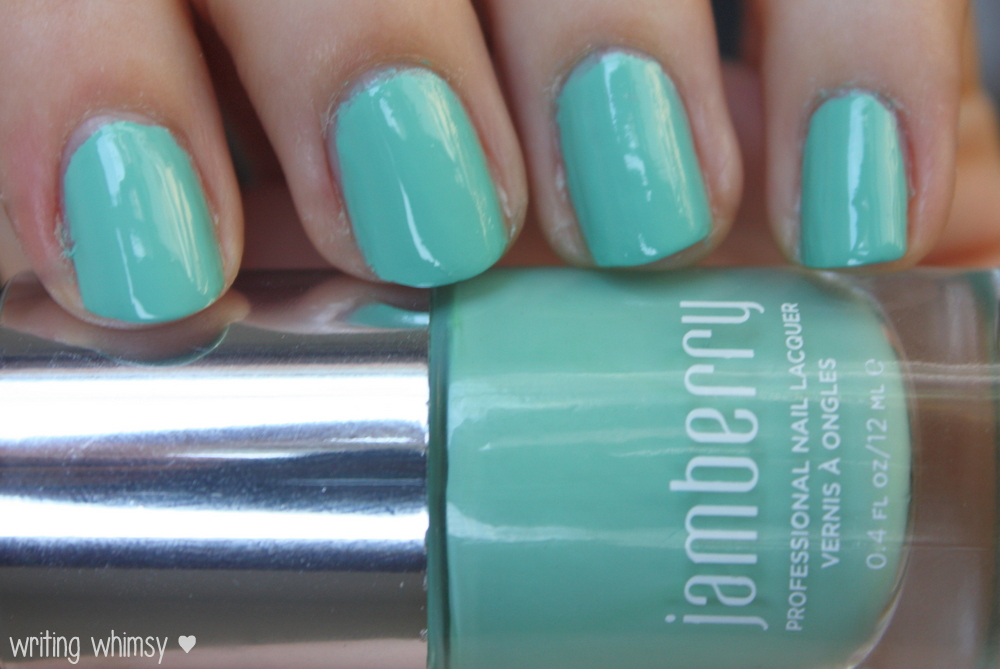 Jamberry Nails Hint of Mint and Matte Finish Top Coat 2