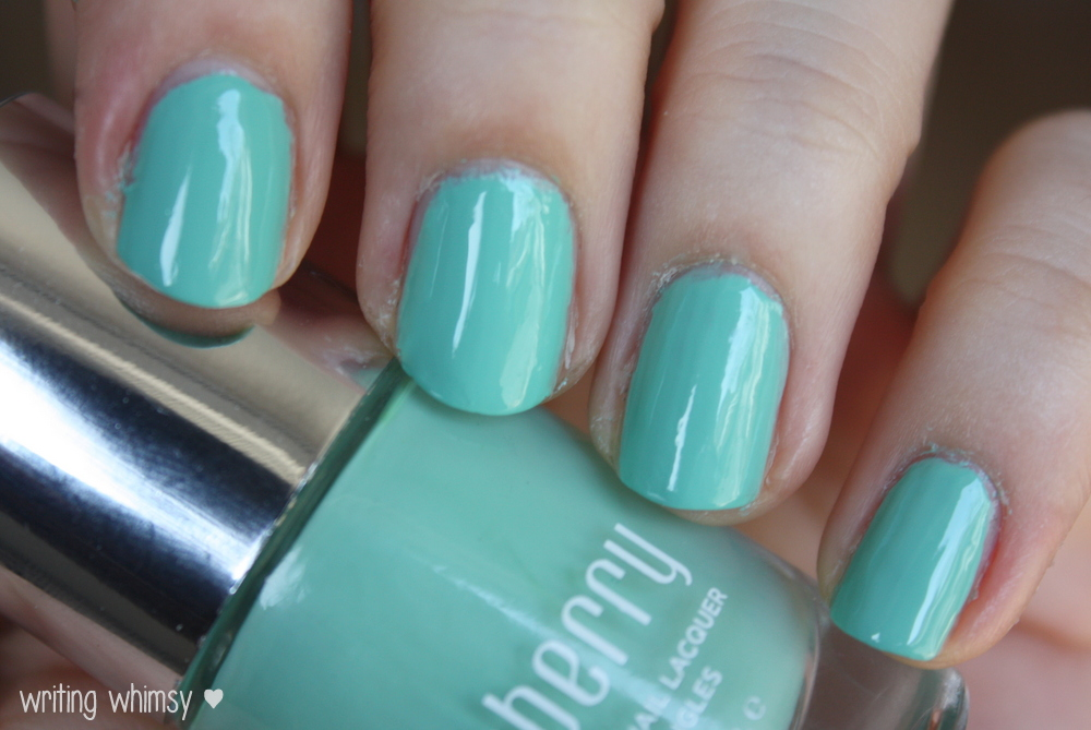Jamberry Nails Hint of Mint and Matte Finish Top Coat 3