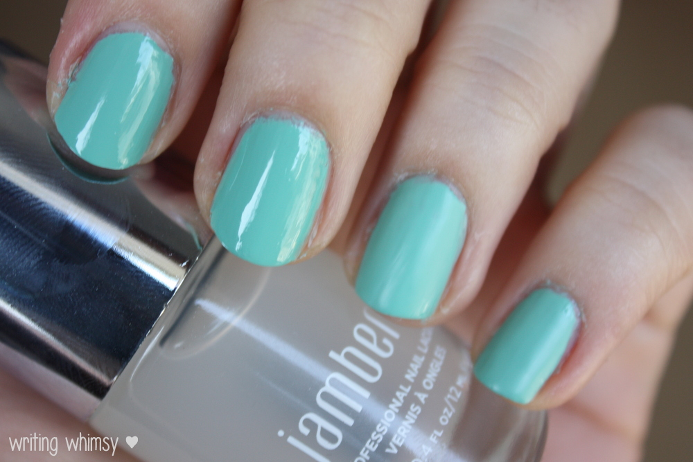 Jamberry Nails Hint of Mint and Matte Finish Top Coat