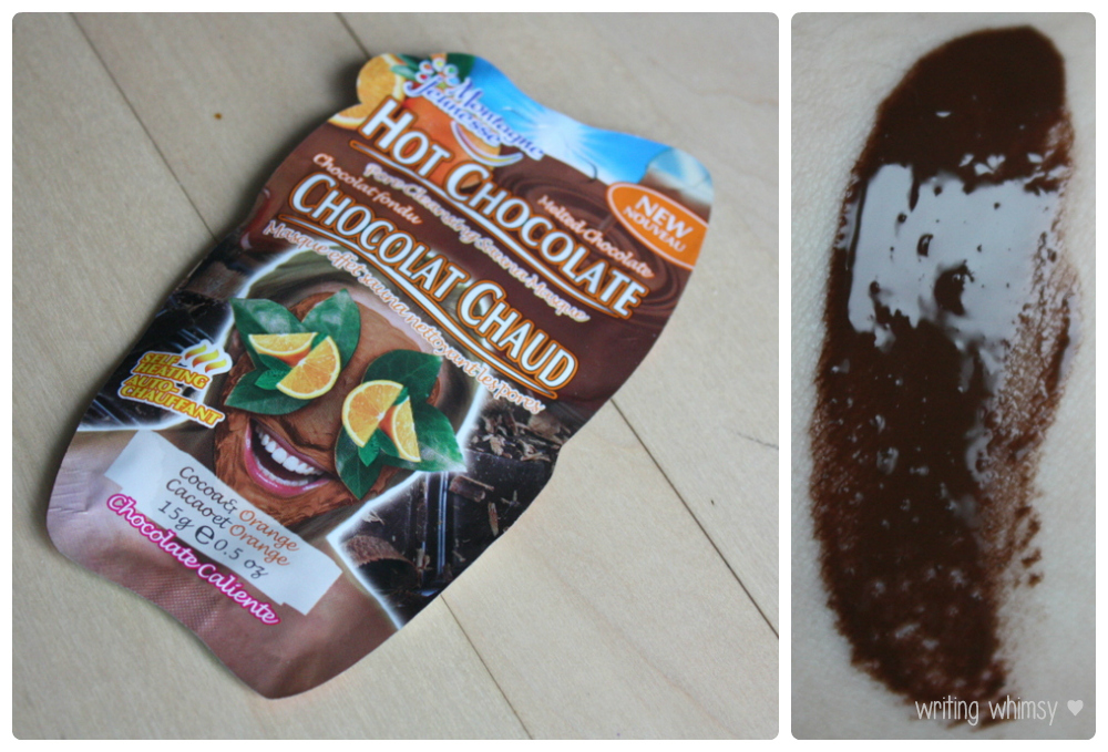 Montagne Jeunesse Face Mask Hot Chocolate Self Heating