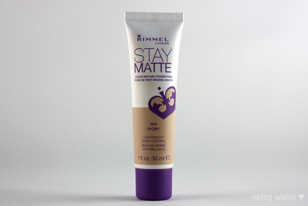 Rimmel Stay Matte Liquid Mousse Foundation in Ivory 2