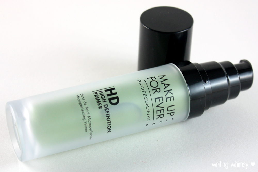 MAKE UP FOR EVER HD Microperfecting Primer in #1 Green 3