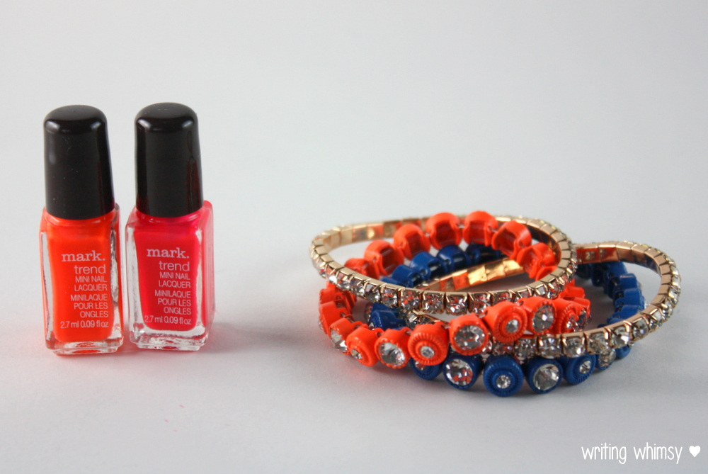 "Mark Summer 2014 ""Nail This Look"" Nail Laquer and Bracelets Set 2"