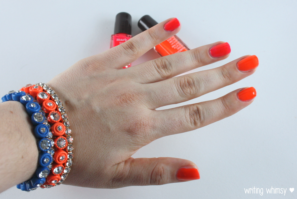 "Mark Summer 2014 ""Nail This Look"" Nail Laquer and Bracelets Set 4"
