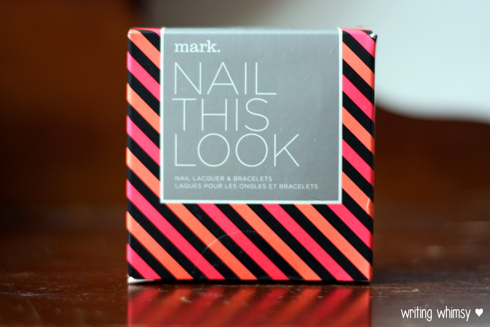 "Mark Summer 2014 ""Nail This Look"" Nail Laquer and Bracelets Set"
