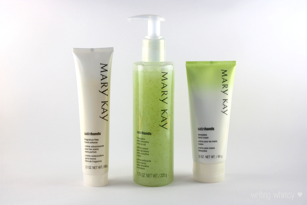 Mary Kay Satin Hands Pampering Set in Honeydew 5