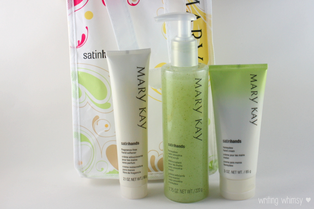 Mary Kay Satin Hands Pampering Set in Honeydew 6