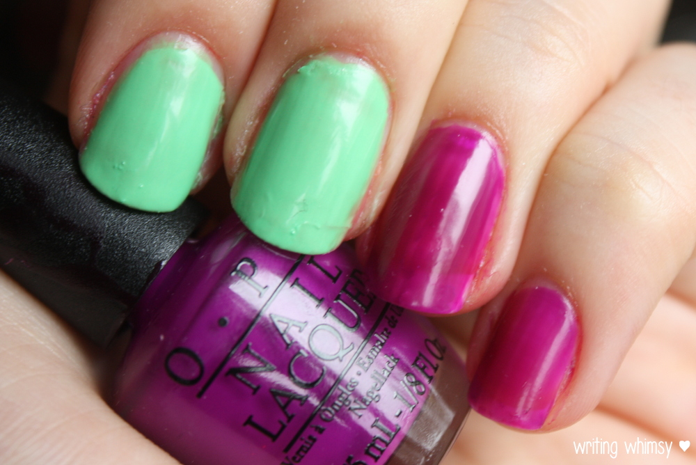 OPI Little Bits of Neon Summer 2014 3