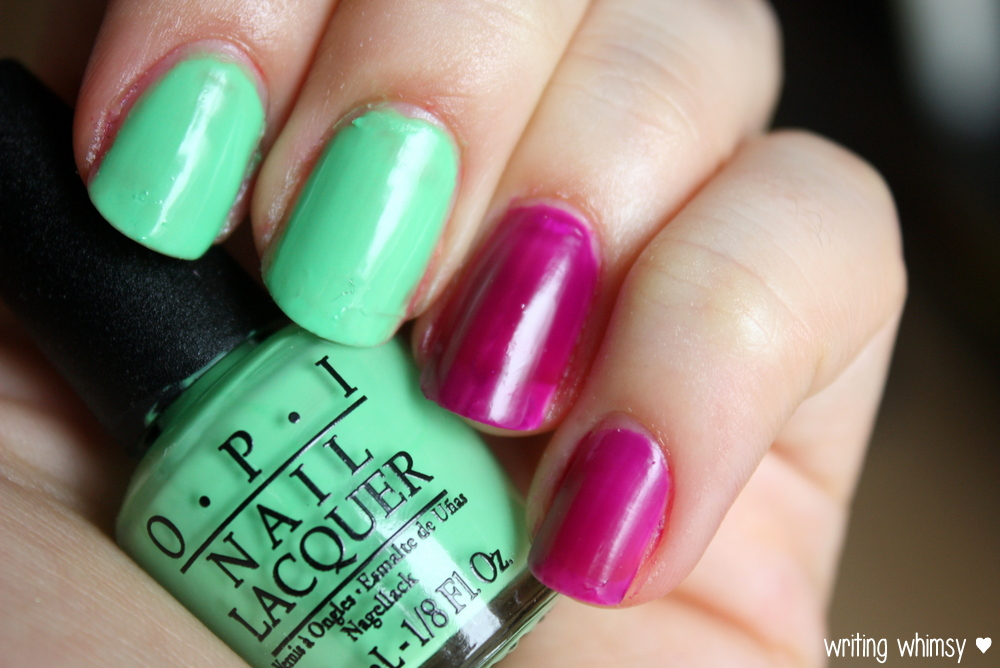 OPI Little Bits of Neon Summer 2014 4