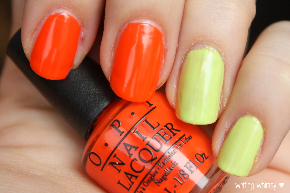 OPI Little Bits of Neon Summer 2014 6