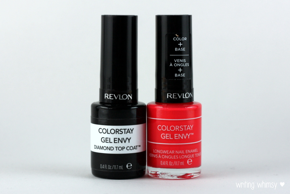 revlon colorstay gel envy in pocket aces and diamond top coat writing whimsy. Black Bedroom Furniture Sets. Home Design Ideas