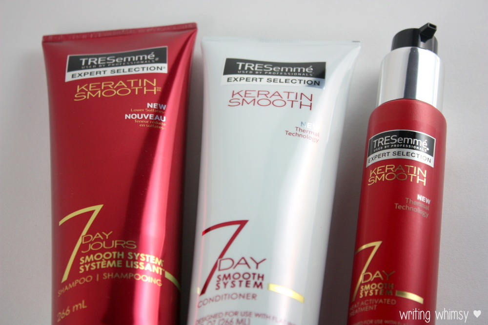 tresemme keratin smooth 7 day smooth