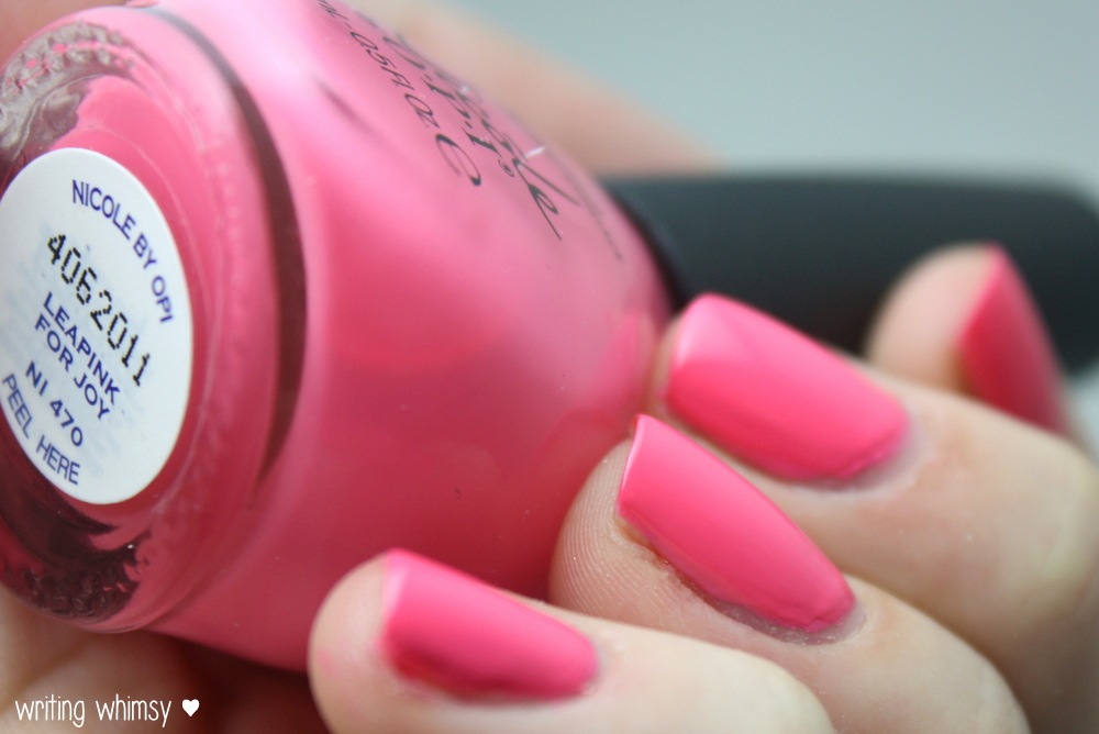 Nicole by OPI Seize the Summer 2014 Collection 10