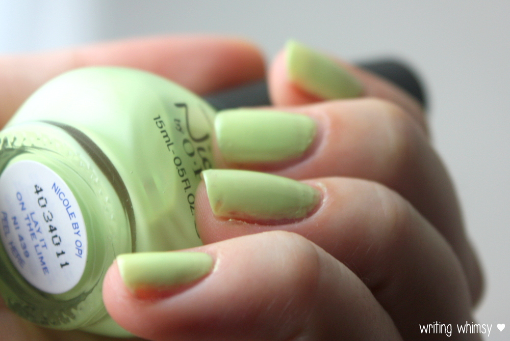 Nicole by OPI Seize the Summer 2014 Collection 15