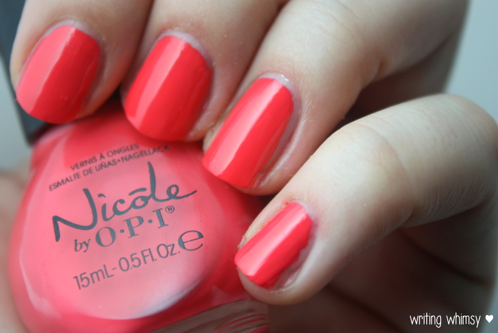 Nicole by OPI Seize the Summer 2014 Collection 8