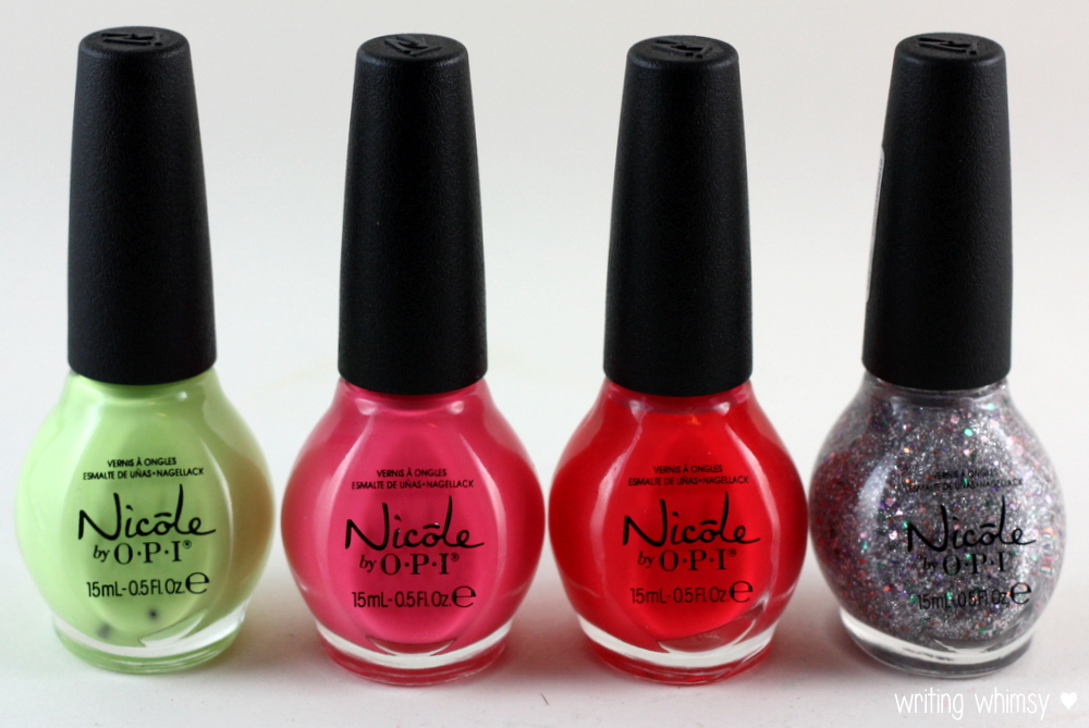 Nicole by OPI Seize the Summer 2014 Collection
