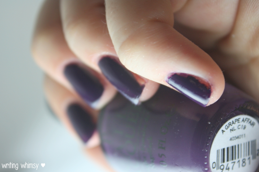 OPI Coca-Cola A Grape Affair 2