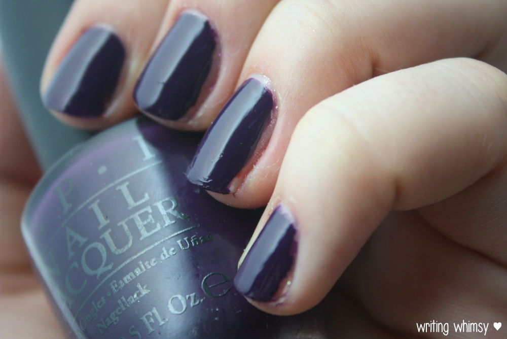 OPI Coca-Cola A Grape Affair 3