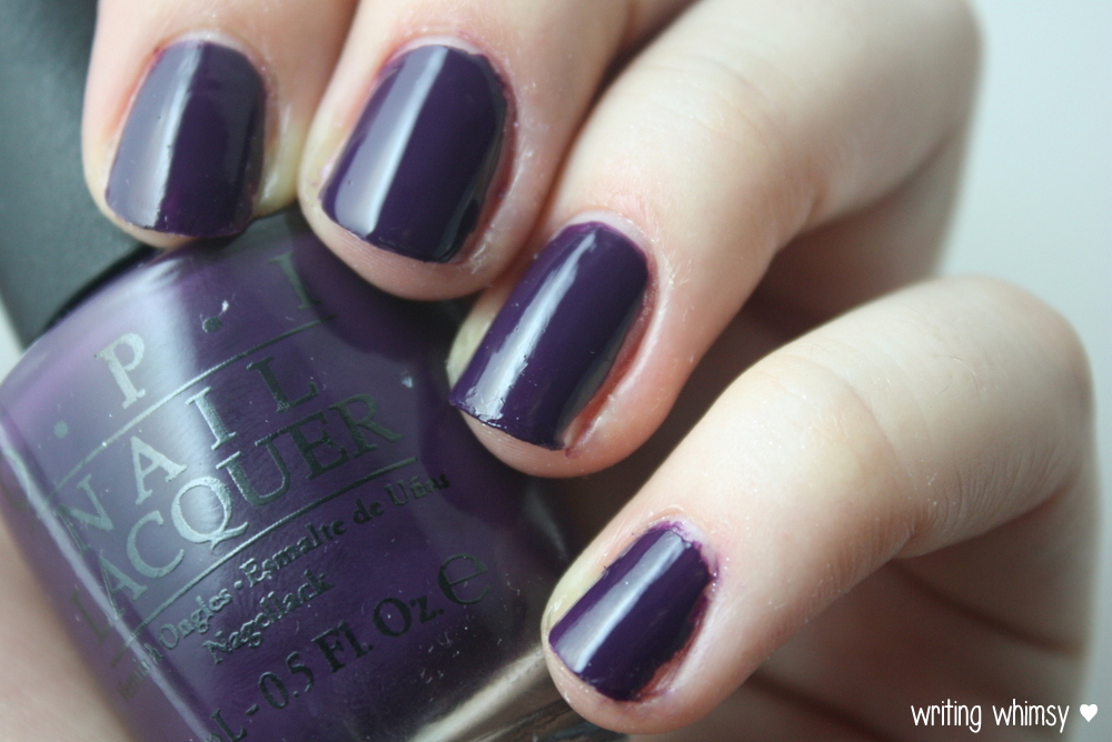 OPI Coca-Cola A Grape Affair