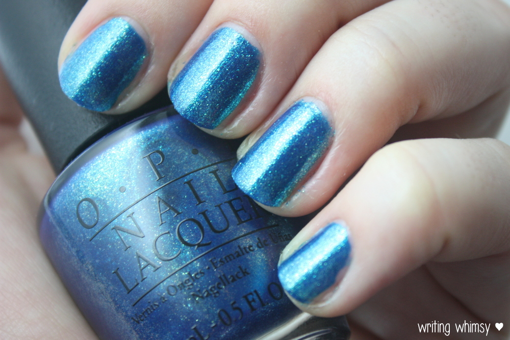 OPI Ford Mustang The Sky's My Limit