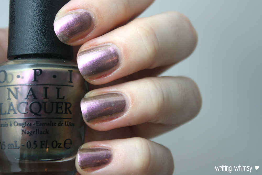 OPI Muppets Most Wanted Kermit Me To Speak 2