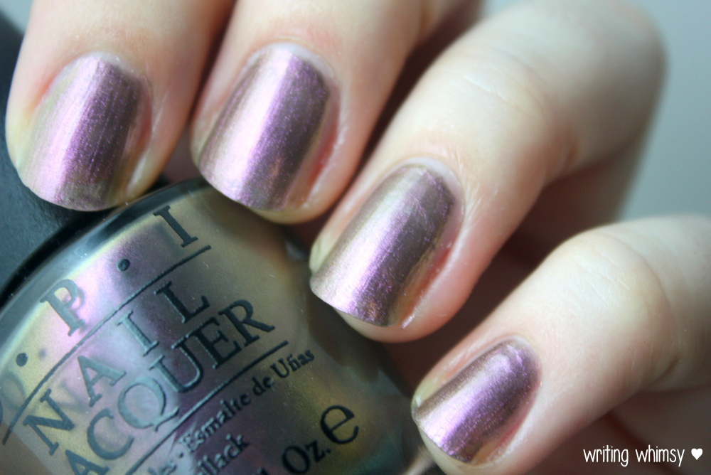 OPI Muppets Most Wanted Kermit Me To Speak 3