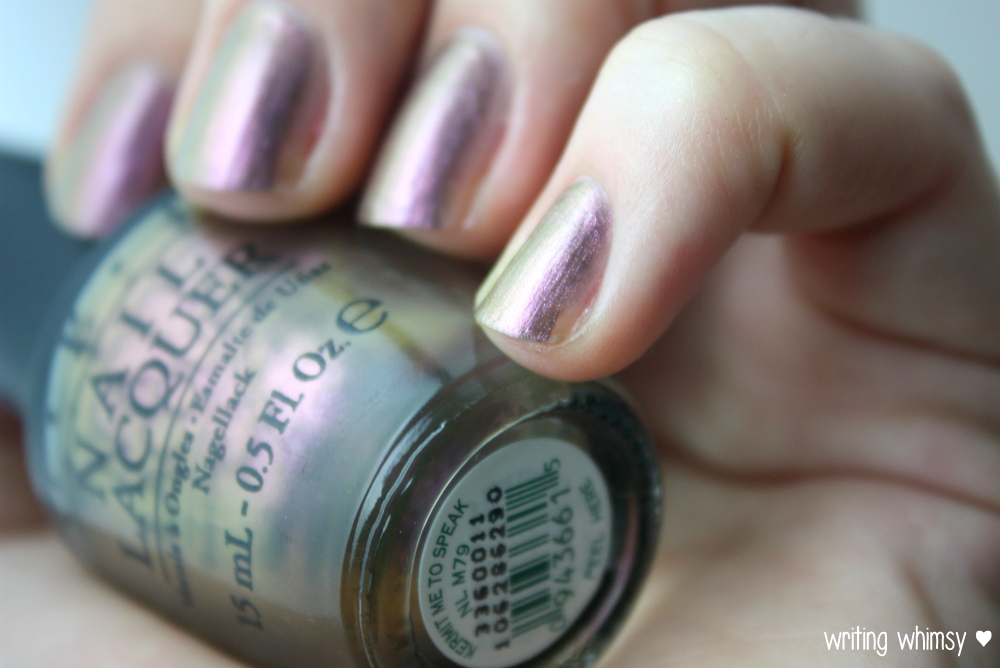 OPI Muppets Most Wanted Kermit Me To Speak