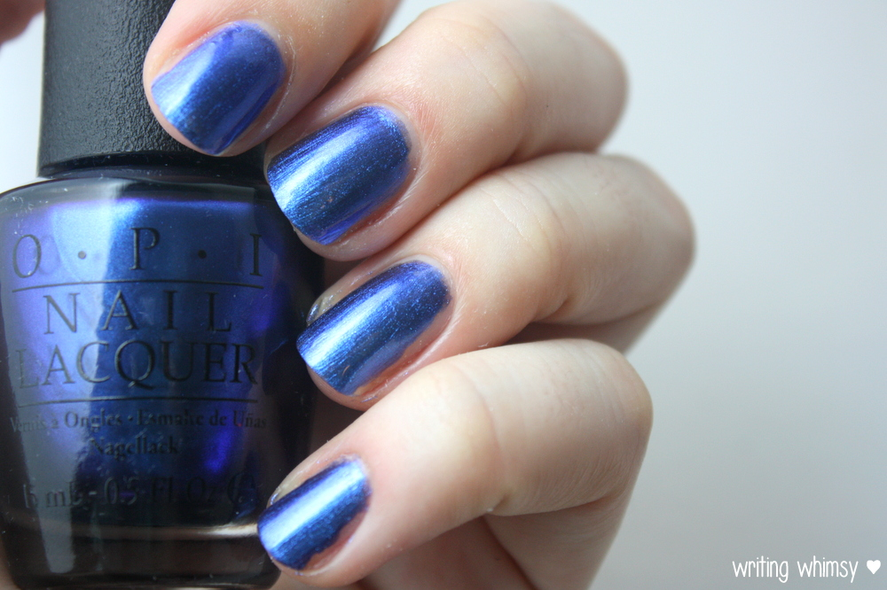 OPI Muppets Most Wanted Miss Piggy's Big Number 3