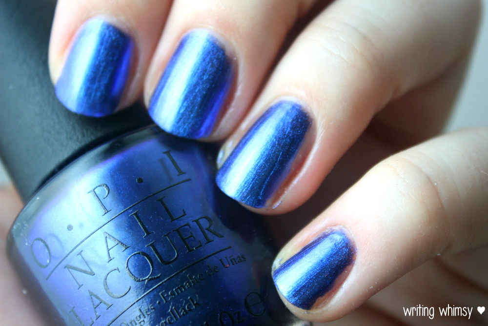 OPI Muppets Most Wanted Miss Piggy's Big Number