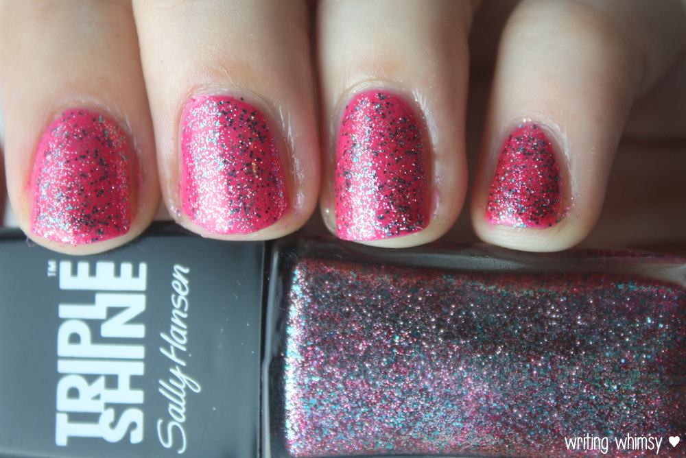 Sally Hansen Tahiti Sunset Pink Coconut and Changing Tides  2