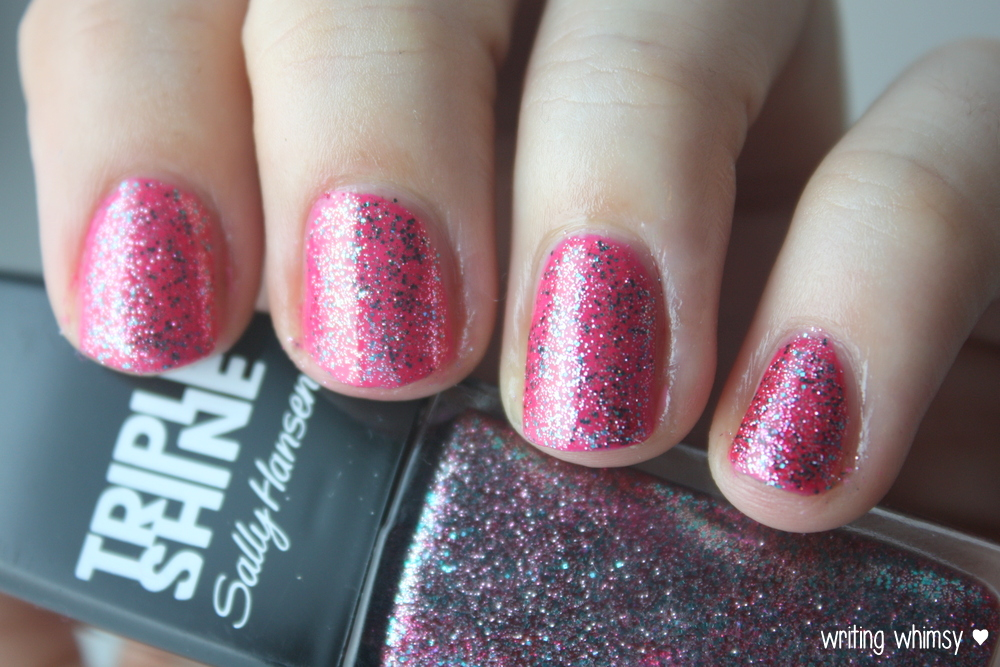 Sally Hansen Tahiti Sunset Pink Coconut and Changing Tides  3
