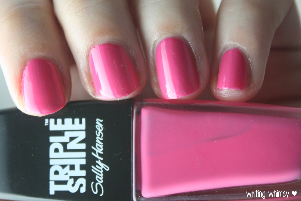 Sally Hansen Tahiti Sunset Pink Coconut and Changing Tides  5