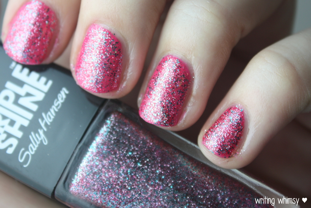 Sally Hansen Tahiti Sunset Pink Coconut and Changing Tides