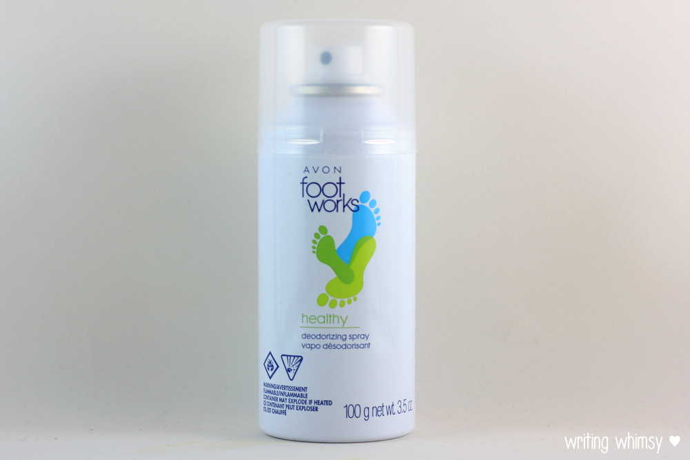 Avon Foot Works Deodorizing Spray and Foot Wipes 4