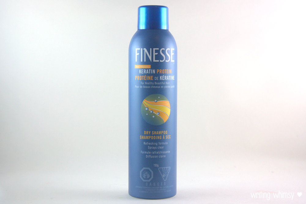 Finesse Kertain Protein Dry Shampoo 3
