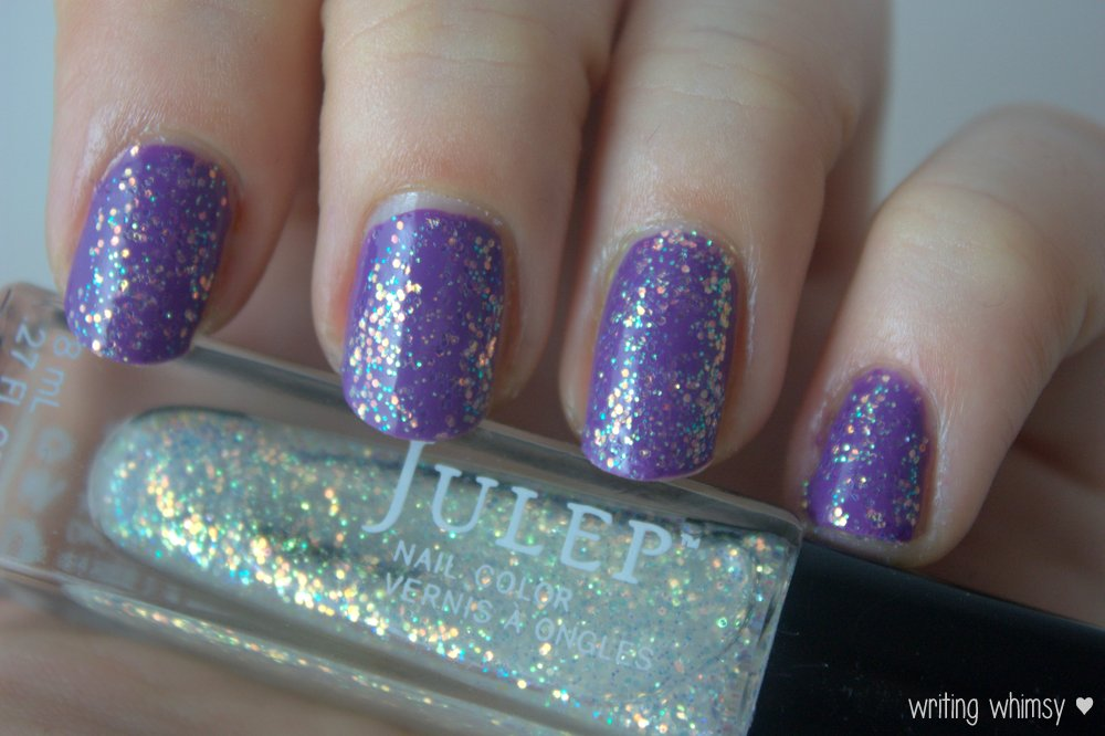 Julep Camille over pep in your step sally hansne