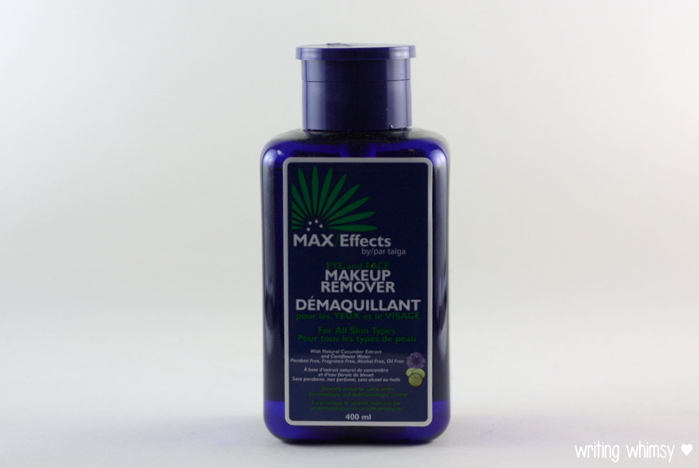 MAX:Effects Naturals 2in1 Eye and Face Makeup Remover 3