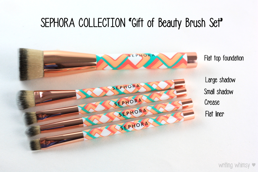 Sephora Collection GIft of Beauty Brush Set 4